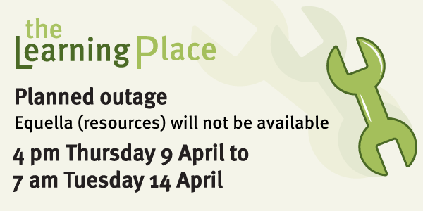 Planned outage during April school holidays